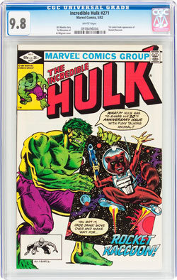 incredible hulk 271 cgc 9.8 comic book